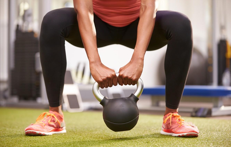Photo wallpaper legs, workout, crossfit, Russian dumbbell