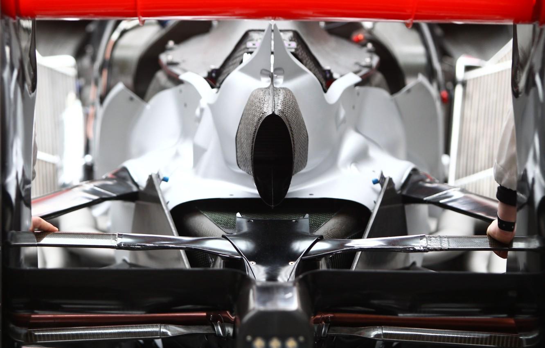 Photo wallpaper sport, McLaren, formula 1, the car, formula 1, rear view