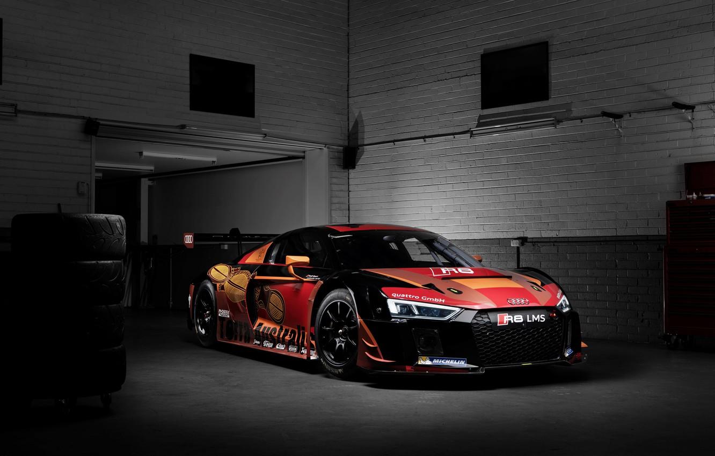 Photo wallpaper Audi, Audi, sport, supercar, LMS