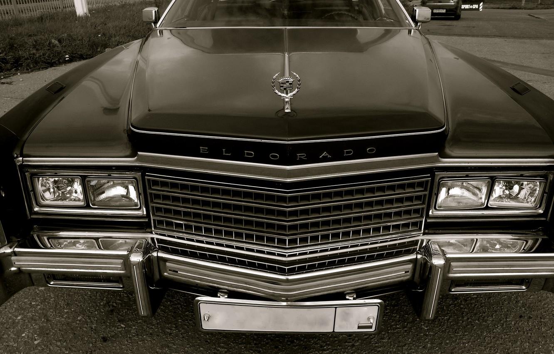 Photo wallpaper Retro, Machine, Grille, Lights, Cadillac Eldorado 1978