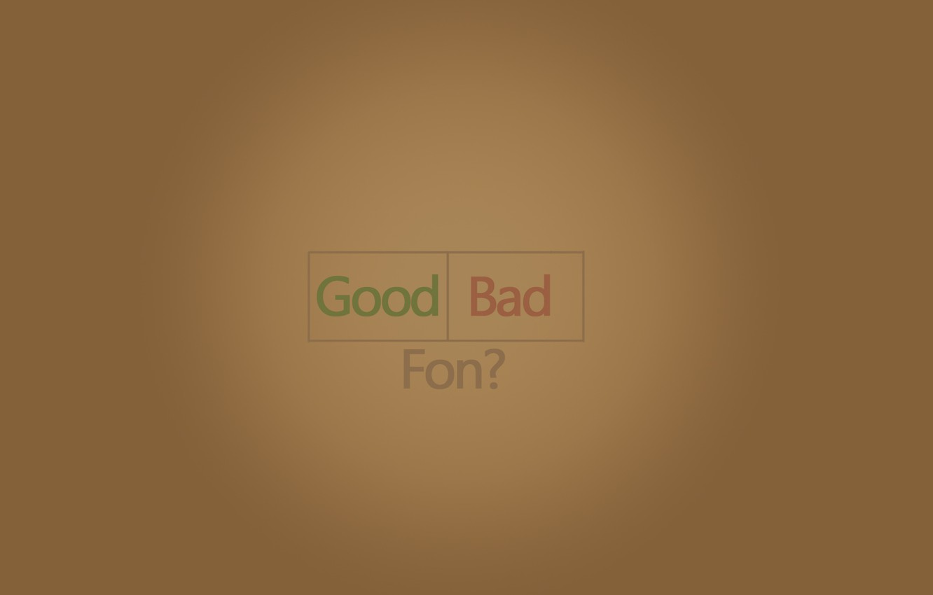 Photo wallpaper goodfon, Good, fon, bad