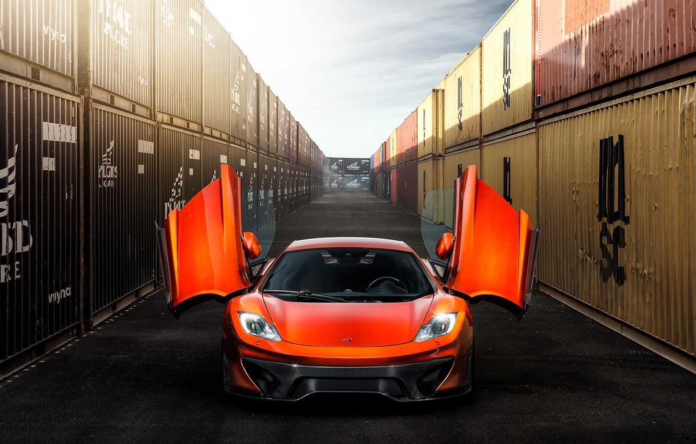 Photo wallpaper car, Vorsteiner, tuning, MP4-12c, McLaren MP4-VX