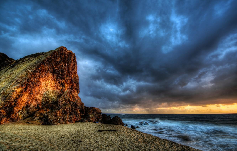 Photo wallpaper HDR, Landscape, Malibu, Seascape Photography