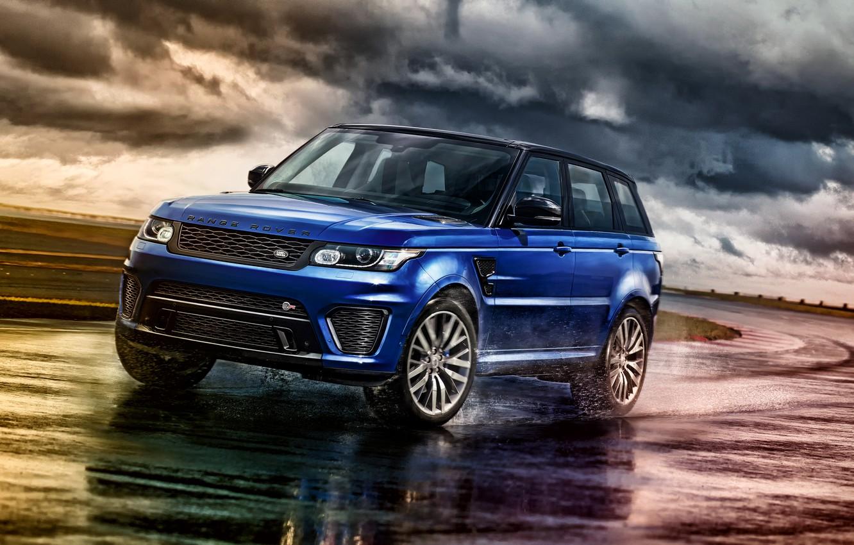 Photo wallpaper Range Rover, Sport, range Rover, US-spec, 2015, SVR