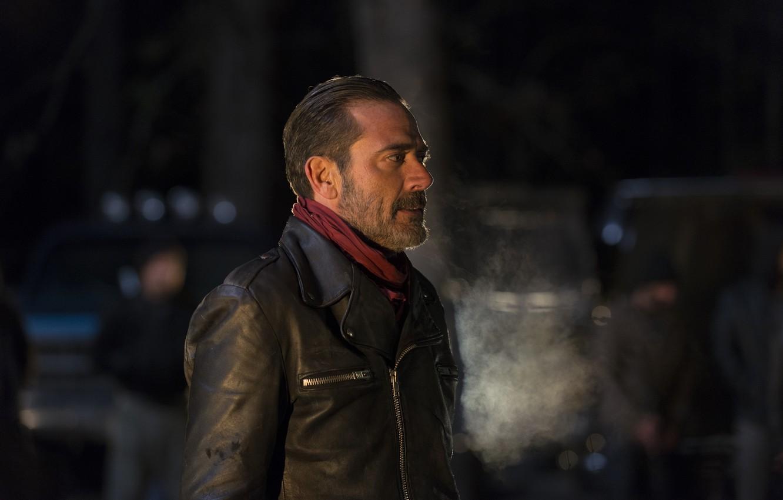 Wallpaper Jacket Profile Jeffrey Dean Morgan The Walking Dead