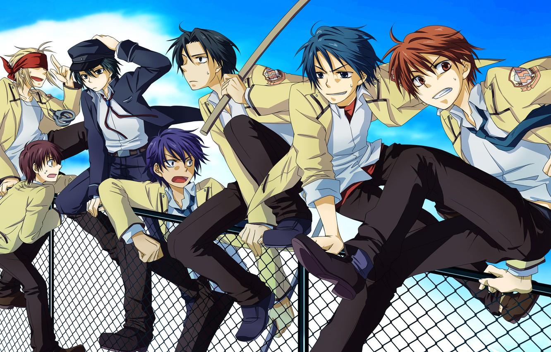 Photo wallpaper Angel Beats, Angel Beats, Hideki, Noda, Yuzuru