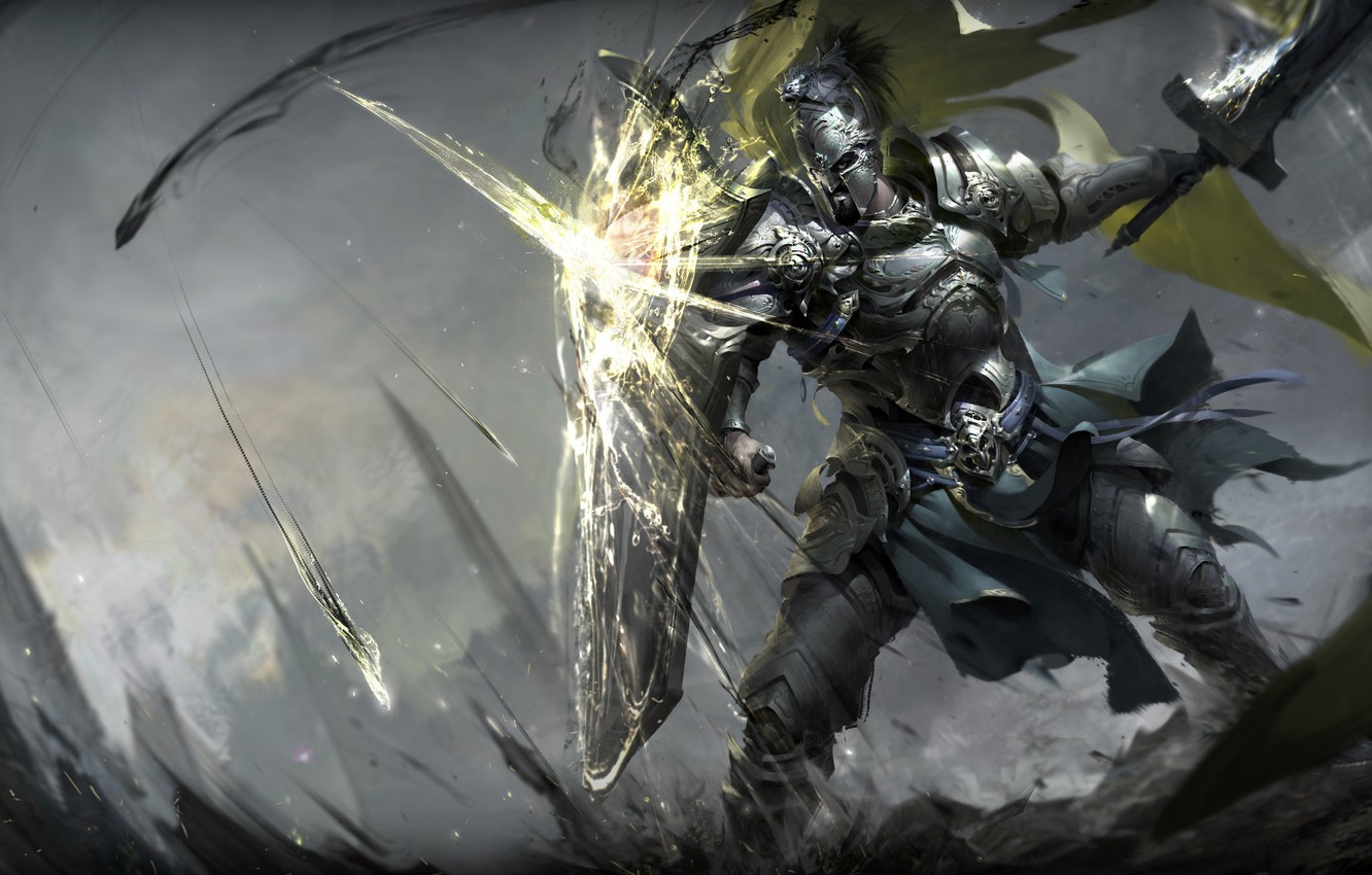 Image result for warrior on armor and shield