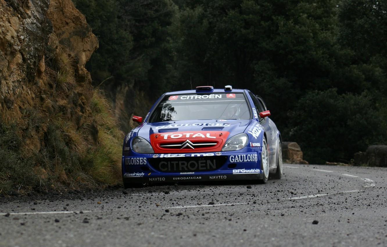 Photo wallpaper Citroen, Citroen, WRC, Rally, Rally, Xsara