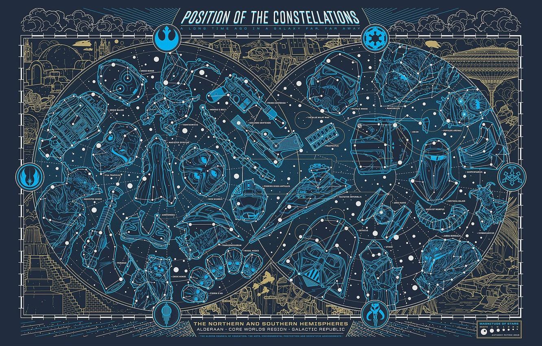 Wallpaper Map Star Wars Constellation Star Wars Images For Desktop Section Fantastika Download