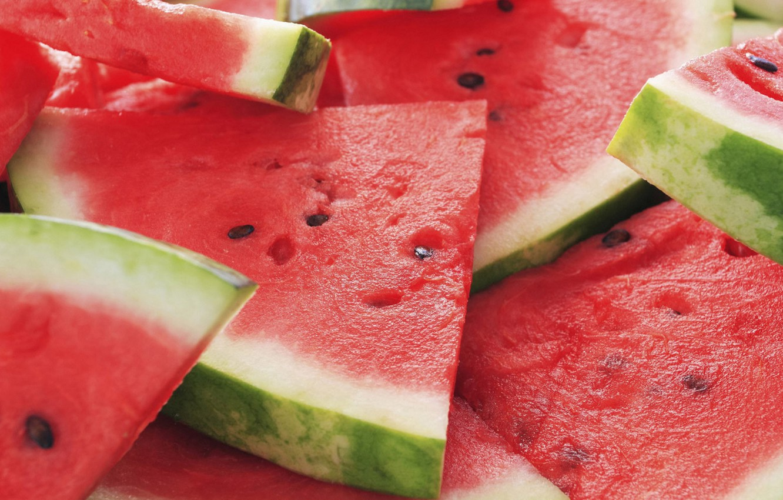 Photo wallpaper Summer, Watermelon, Berry, Fruit