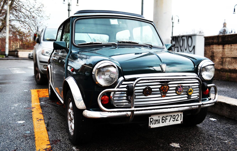 Photo wallpaper auto, Mini Cooper, Morris Mini Cooper