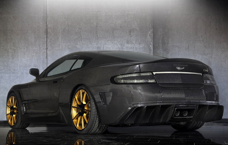 Photo wallpaper tuning, Aston Martin, car, carbon, back, Mansory, Cyrus, Aston Martin DB9