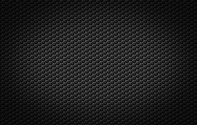 Photo wallpaper black, texture, metal