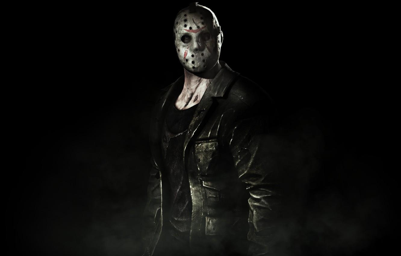 Photo wallpaper mask, jacket, jason, mortal kombat x, voorhins