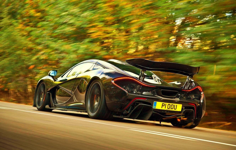 Photo wallpaper McLaren, Speed, Supercar, Hypercar