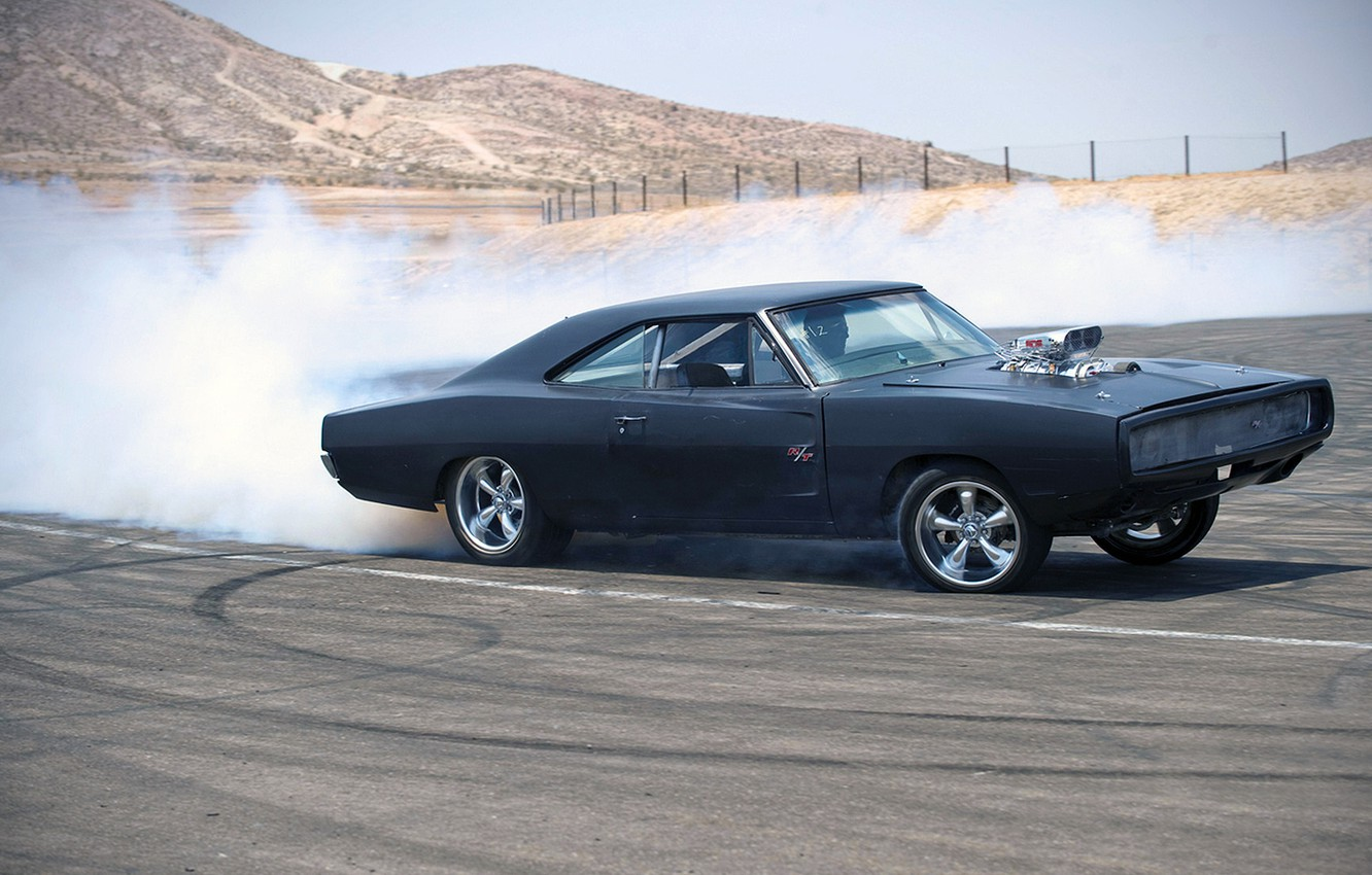 Photo wallpaper dodge, charger