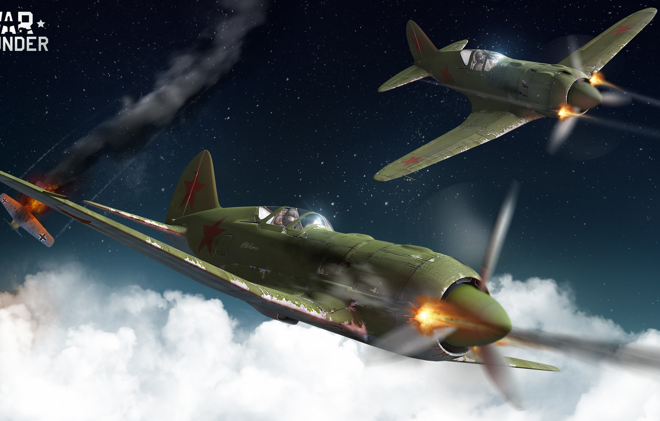 Wallpaper The Sky Clouds Night The Plane War Fighter