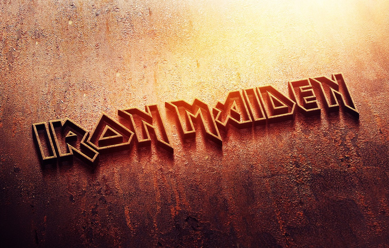 Wallpaper Metal Logo Rust Logo Iron Iron Maiden Heavy Metal Images For Desktop Section Muzyka Download