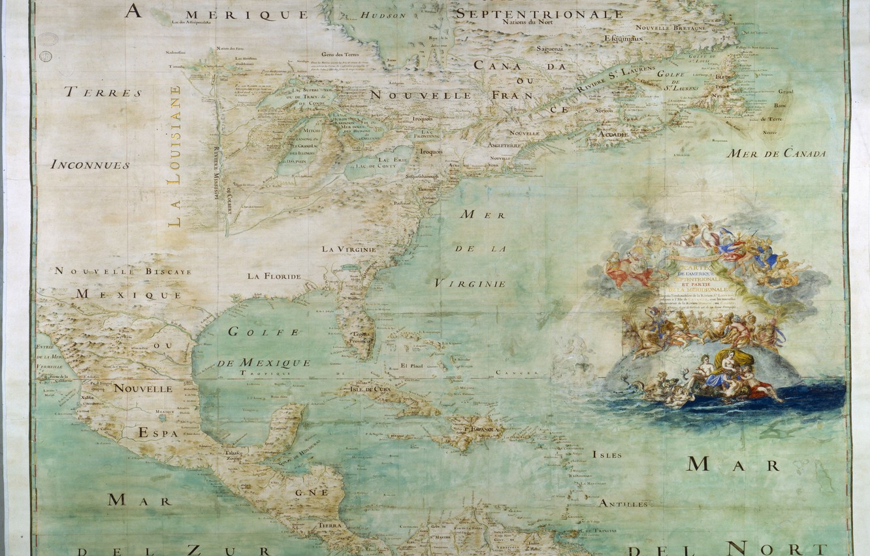 Wallpaper map, old map, North America images for desktop ...