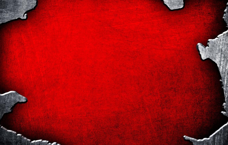 Photo wallpaper red, background, texture, metallic, edge