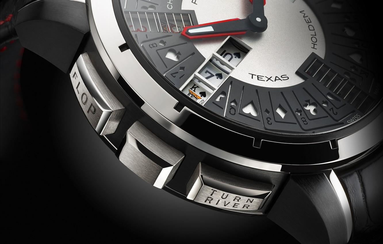 Photo wallpaper watch, Poker, Christophe, Claret