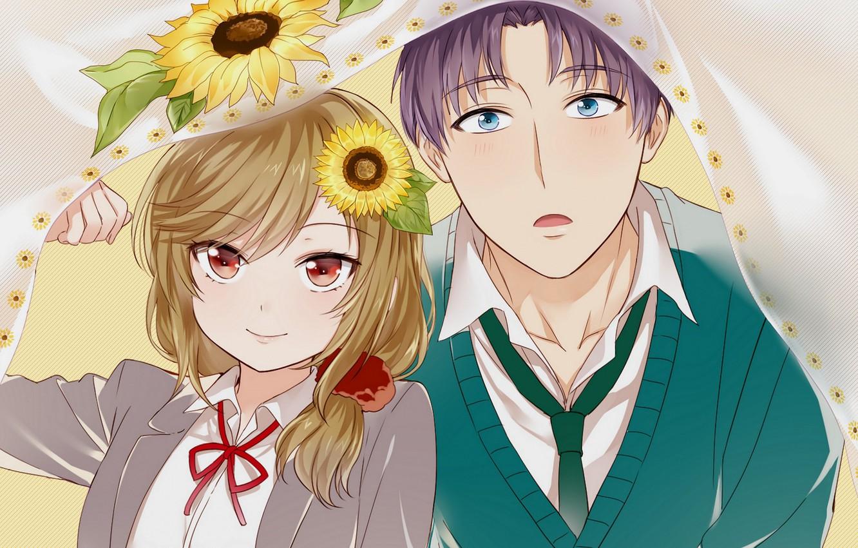 Wallpaper Anime Nozaki Is The Author Of Shojo Manga Guy Art