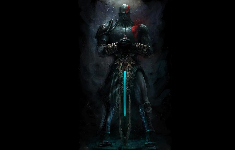 Wallpaper Tattoo Chain Black Kratos God Of War Tatoo