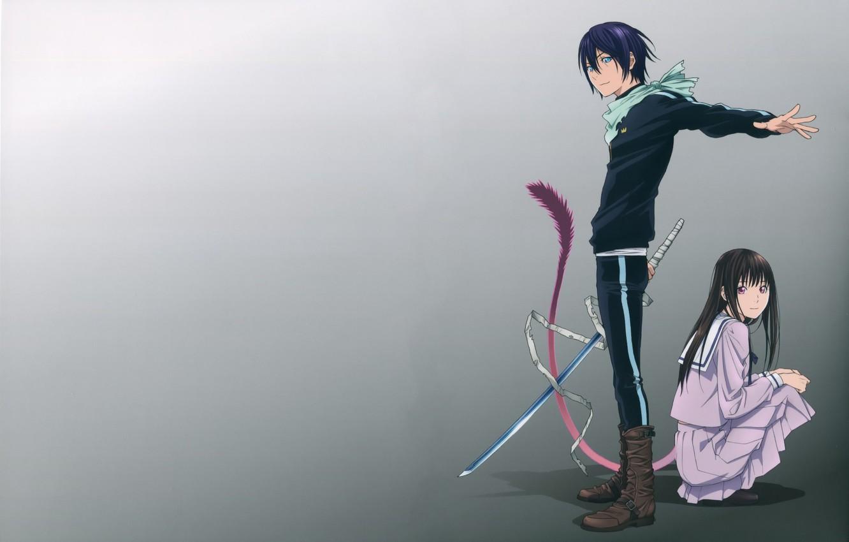 Photo wallpaper Anime, Noragami, Yato., If that wait
