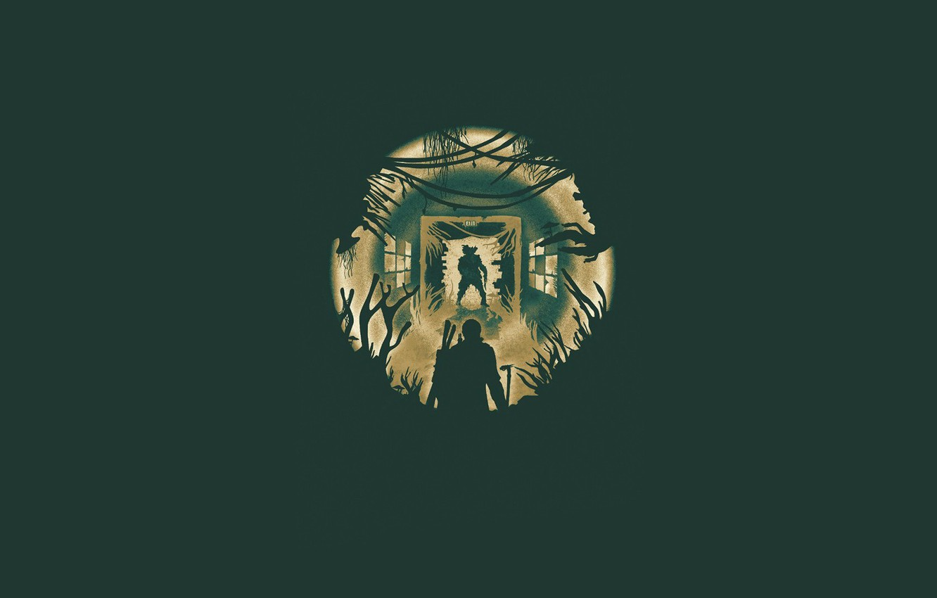 Photo wallpaper minimalism, zombies, The Last of Us, Naughty Dog, Some of us, Sony Computer Entertainment, The …