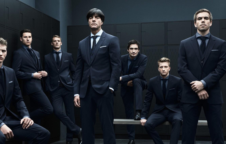 Wallpaper Germany Locker Room Team Football Costumes