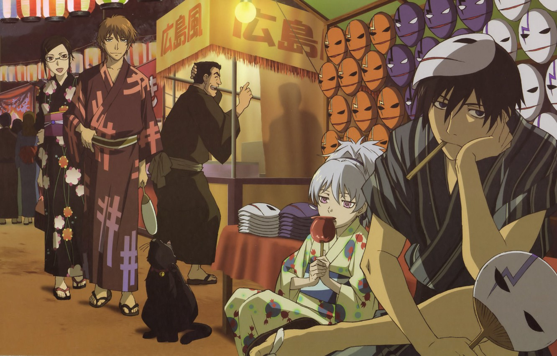 Wallpaper Yin Darker Than Black Hey Mao Misaki Kirihara