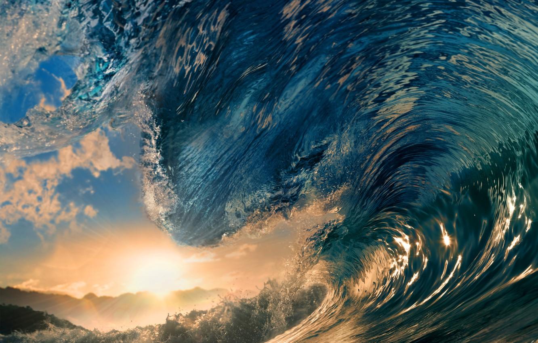 Wallpaper Sea The Sun Landscape The Ocean Wave Surfing
