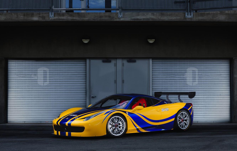 Photo wallpaper Ferrari, 458, Challenge, N512