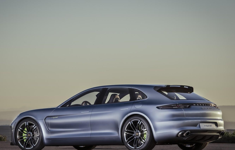 Photo wallpaper Concept, Porsche, Panamera, car, Porsche, sports, Sport Turismo