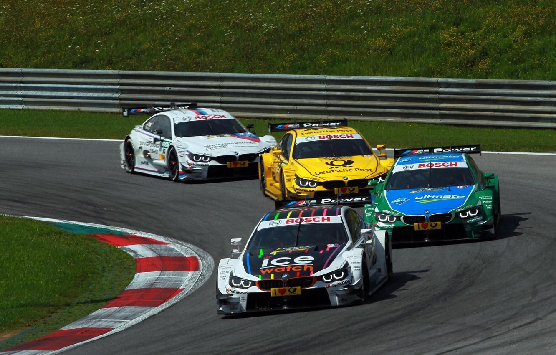 Photo wallpaper BMW, Boomer, Race, DTM