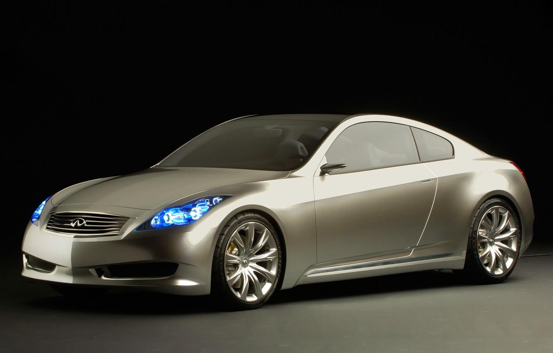 Photo wallpaper car, concept, Infiniti, coupe