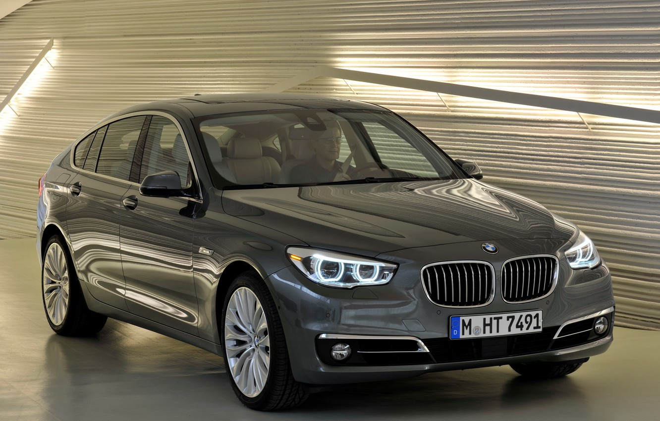 Photo wallpaper auto, lights, BMW, the front, front, xDrive, Gran Turismo, Modern Line, 535i