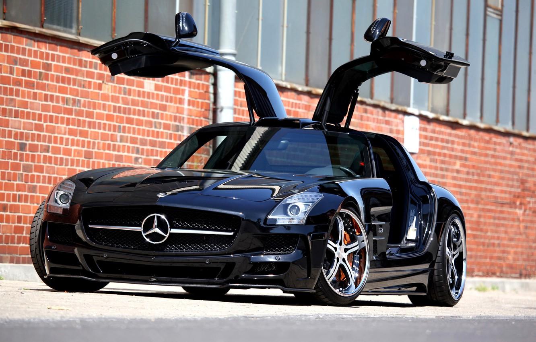 Photo wallpaper cars, mercedes, Mercedes, cars, benz, sls, amg, auto wallpapers, car Wallpaper, auto photo, mec-design