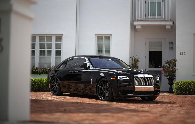 Photo wallpaper Rolls Royce, Ghost, Series, M.V1, ADV08