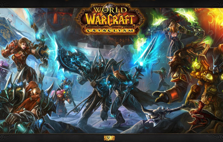 Wallpaper Magic Battle World Of Warcraft Cataclysm Images