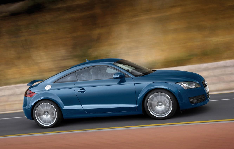 Photo wallpaper Audi, blue