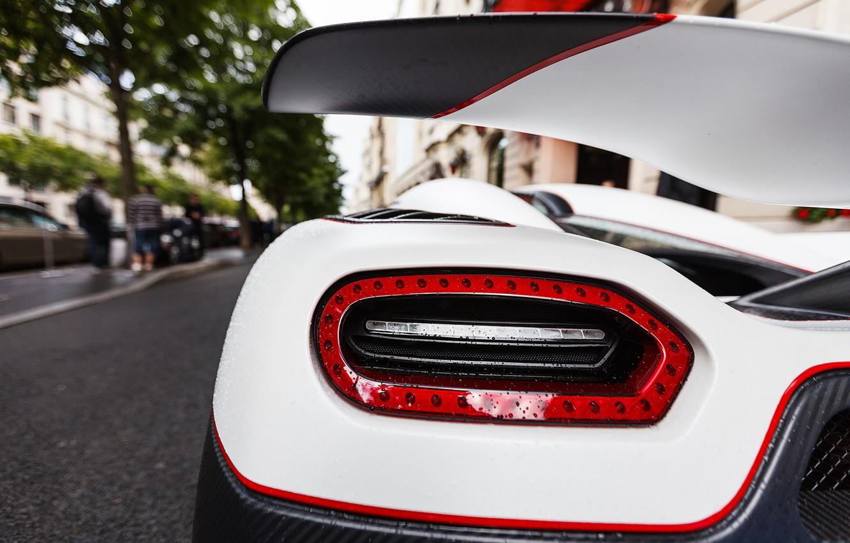 Photo wallpaper white, Koenigsegg, supercar, supercar, agera, back, agera R, Koenigsegg