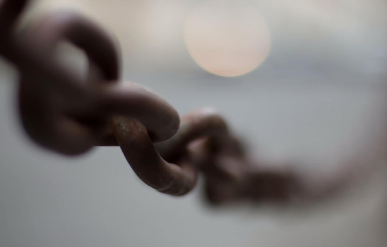 Photo wallpaper macro, background, chain