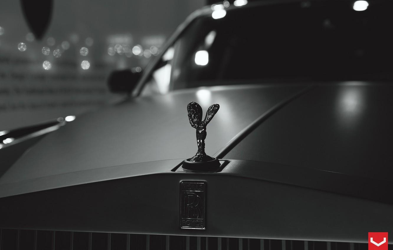 Photo wallpaper car, auto, coupe, rolls royce, royce, rolls, rolls Royce, vossen, luxury, Royce, rolls