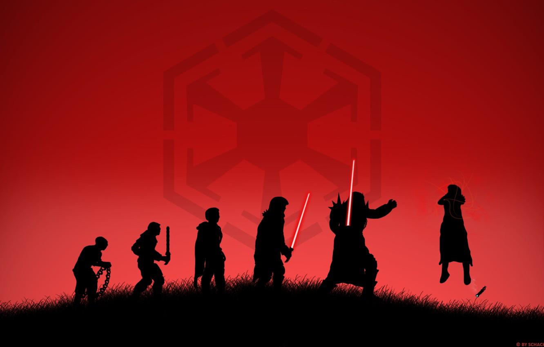 Photo wallpaper power, Star Wars, star wars, evolution, evolution, lightsaber, Sith, sith