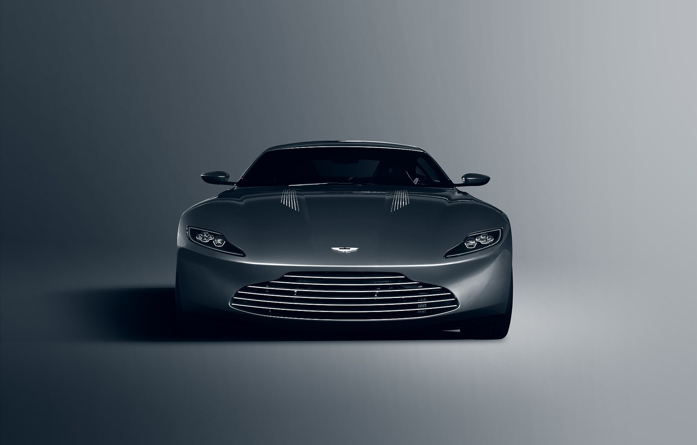 Photo wallpaper Concept, Aston Martin, Front, James Bond, Silver, Unique, DB10