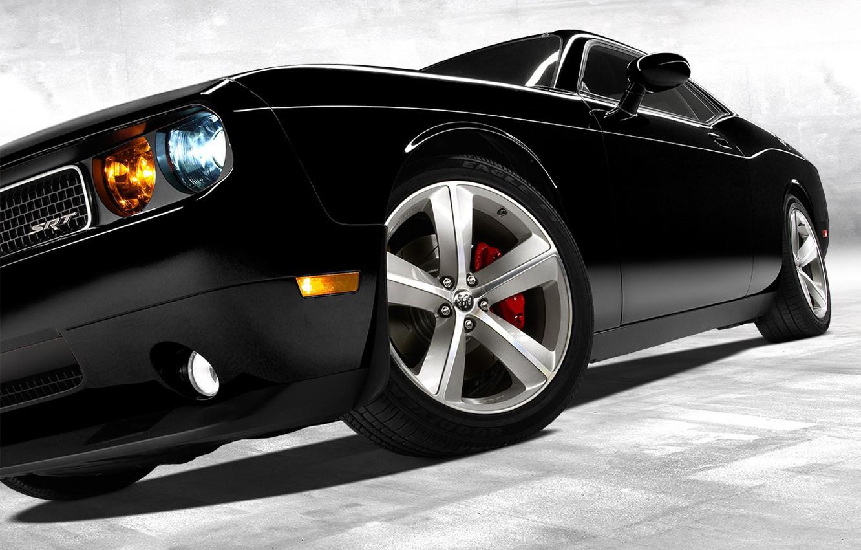 Photo wallpaper Auto, Black, Wheel