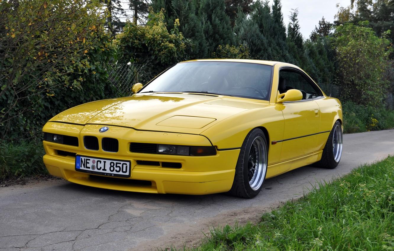 Photo wallpaper BMW, E31, 8 series