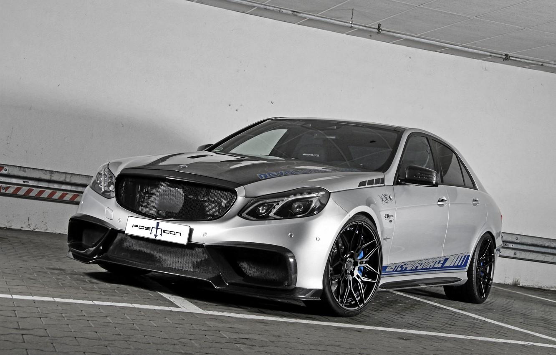 Photo wallpaper Mercedes-Benz, E-Class, Mercedes, AMG, W212, Posaidon