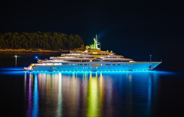 Wallpaper Water Night Shore Ship Luxury Cruise Liner Images For Desktop Section Pejzazhi Download